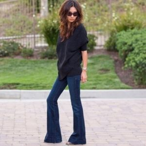 J.Brand Women's Jeans Lovestory Dark Wash Flare